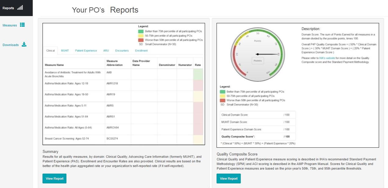 AMP Analytics Portal_Reports